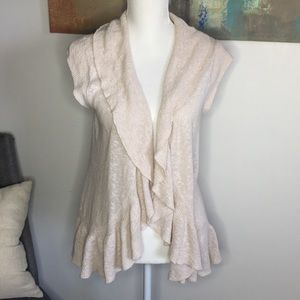 Style&co. Open front cardigan sz:M